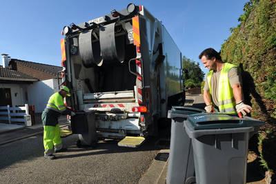 Ramassage des poubelles