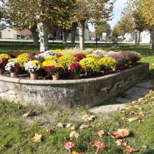 Fleurissement de la commune