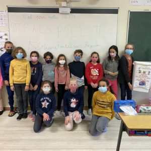 Le club «Stop pollution» de l'école
