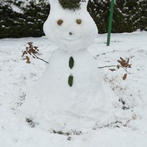 Bonhomme de neige…