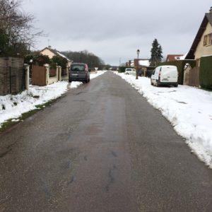 La neige s'est invitée cette nuit !