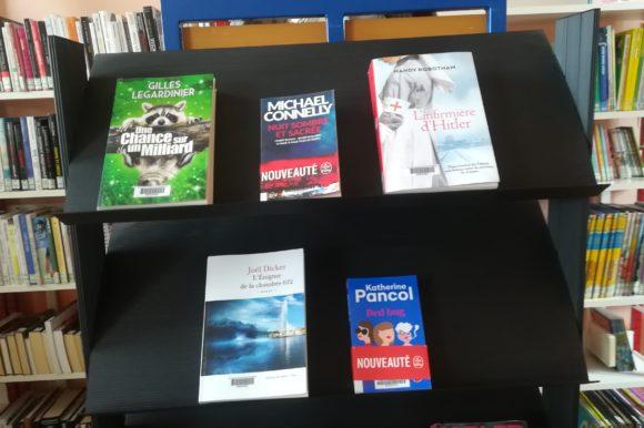 Une belle sélection à la bibliothèque