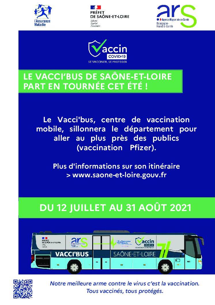 Le vacci'bus en tournée cet été !