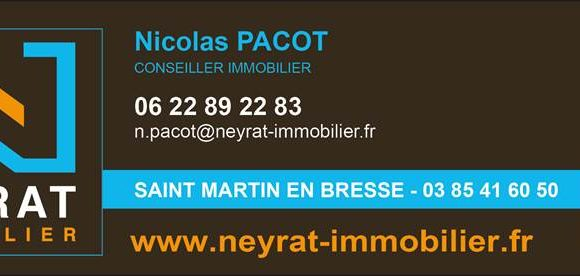 Présentation de Nicolas Pacot : Agent Immobilier de notre village